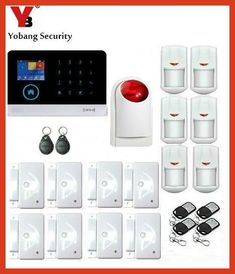 5 diy home security systems a do it yourself diy home security yobang security smart home burglar security alarm system pir infrared strobe siren wifi gsm alarmsystem solutioingenieria Gallery