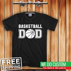Basketball DAD Unisex Adult T-shirt S-5XL - Great Gift #Gildan #ShortSleeve