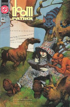 The cover to Doom Patrol #46 (1991), art by Simon Bisley