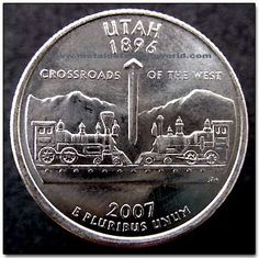 Utah Ski Resorts, State Quarters, Ski Season, World Coins, Us Coins, Beehive, Love Pictures, Coin Collecting, School Stuff