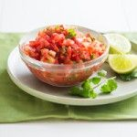Easy Salsa Recipe. Very good but tweak if you like it more sweet, spicy, etc. I added sugar, black pepper and fresh garlic.