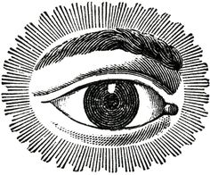 Free Public Domain Image Watching Eye