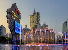 Wynn Macau & Grand Lisboa Casinos.