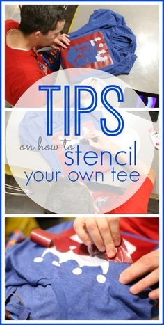 All crafty people seem to attempt making their own shirts, am I right?!  I've made many, and today I have some tips if you're going to attempt to stencil your own tee – you've got this!  I think DIY Stenciled Tee TIPS are helpful in avoiding a craft fail – – DIY Stenciled Tee TIPS from MichaelsMakers Sugarbee Crafts
