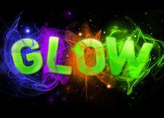 Glow Run, Glow Party, Harvest, Glitter, Neon Signs, Education, Artwork, Work Of Art, Auguste Rodin Artwork