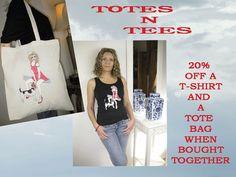 20% OFF TEE 'N' TOTE PACKAGES - Alice Brands http://www.stores.ebay.co.uk/ALICE-BRANDS . http://www.etsy.com/shop/AliceBrands … http://www.alicebrands.co.uk
