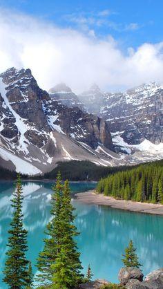 Moraine Lake Banff National Park Canada