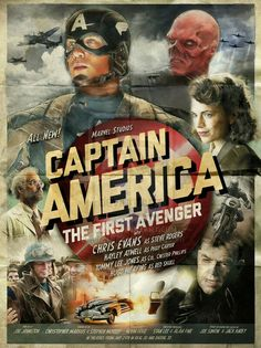 Captain America The First Avenger Alternative movie posters & Artwork created by some very talented people.  #movieposters #movietwit #scifi #scififantasy #fantasy #action #adventure #drama #artwork #StarWars #startrek #Marvel #DC #Disney #HorrorMovies #Alternative