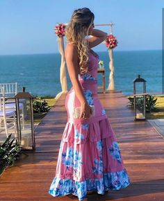 Qual look você usaria? Modest Dresses, Casual Dresses For Women, Pink Outfits, Dress Outfits, Mode Hippie, Evening Dresses, Summer Dresses, Business Casual Outfits, Western Dresses