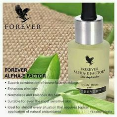 Luxuriously soft Alpha-E Factor from Forever Living. Indulge your loved ones or treat yourself, your skin and your nails!