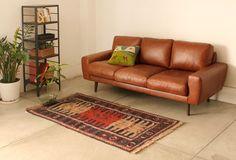 MOLN(モルン) レザーソファ 3シーター   ≪unico≫オンラインショップ:家具/インテリア/ソファ/ラグ等の販売。