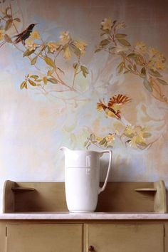 Discover wall mural design ideas on HOUSE - design, food and travel by House & Garden. 'I would describe my style as treading a line between traditional and modern,' says decorative painter Flora Roberts.
