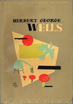Antologia do Conto Moderno - H.G. Wells | Capa de Victor Palla