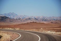 Driving in sinai can fix any problem and makes me relaxed . Desert Mountains, Dream Trips, Mountain Hiking, Cool Places To Visit, Serenity, Egypt, Deserts, Country Roads, Sky