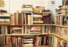 L shaped shelf.