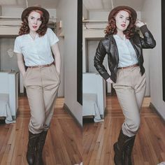 """""""Fortune and glory, kid. Fortune and glory."""" It's been a minute since I've done an inspired look so why not Indiana Jones? I tend to…"""