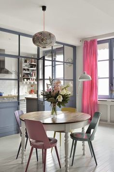 Kitchen enclosed in glass