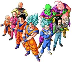 """Gather for the Omni-verse Tournament!"" Drawn by: Young Jijii. Found by: Son Goku (Kakarot)!"