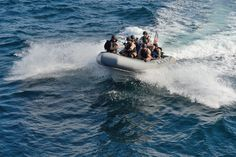 BLACK SEA (Sept. 8, 2014) The rigid-hull inflatable boat, Valor, transports a visit, board, search, and seizure team from USS Ross (DDG 71) during a search and seizure drill during exercise Sea Breeze 2014.