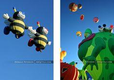 Albuquerque International Balloon Fiesta, New Mexico.