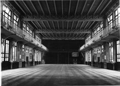 Henri Jacobs. School gym. Schaerbeek Brussels