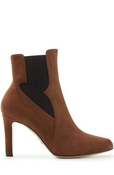 ff36d14282b PAUL ANDREW Suede High Heel Chelsea Boots.  paulandrew  shoes  boots