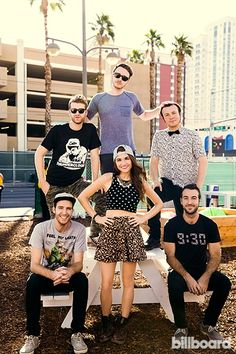 Misterwives at the Life Is Beautiful Festival 2014