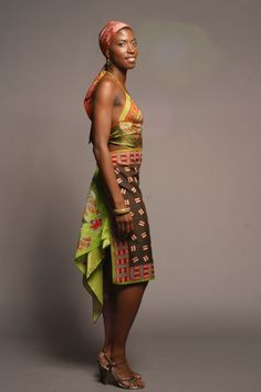 One Of A Kind Recycled Vintage Scarf Dresses By Candice Held