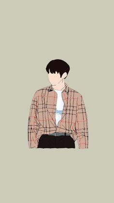 Kang Daniel Wanna one Kpop Drawings, Cute Drawings, Art And Illustration, Boy Art, Art Girl, Cover Wattpad, Foto Top, Cartoon Kunst, Cartoon Art Styles