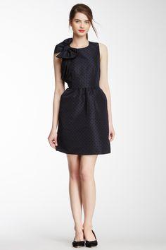Valentino Polka Dot Bow Dress