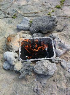 Fun idea for beach picnic