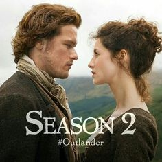 Sam Heughan as Jamie Fraser and Caitriona Balfe as Claire Randall in Outlander on Starz-LOVE this book series/tv show! Outlander Season 2, Outlander 3, Sam Heughan Outlander, Outlander Quotes, Outlander Casting, Outlander Book Series, Outlander Tv Series, Saga, Diana Gabaldon Outlander Series