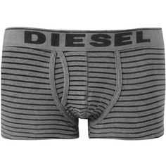 Diesel Fresh & Bright Boxer Briefs - Grey X-Large (£11) ❤ liked on Polyvore featuring men's fashion, men's clothing, men's underwear, grey, mens cotton boxer briefs, men's boxer briefs, mens boxers, mens short leg boxer briefs and mens cotton boxers