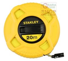 STANLEY ROTELLA METRICA FIBERGLASSS MT. 20 ART. 0.34.296 http://www.decariashop.it/ferramenta-attrezzature/15562-stanley-rotella-metrica-fiberglasss-mt-20-art-034296-3253560342968.html