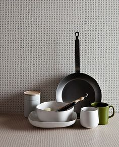 Ronan & Erwan Bouroullec Pico collection Mutina tiles, locally at Stone Tile. For an uncleanable backsplash?