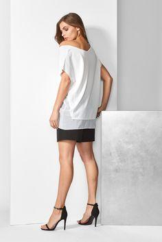 Cold Shoulder Dress, White Dress, Elegant, Tops, Dresses, Fashion, Classy, Vestidos, Moda