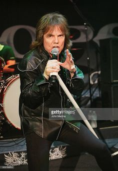 Lead singer Joey Tempest of Europe performs at Rockbar Theater on January 19, 2016 in San Jose, California.