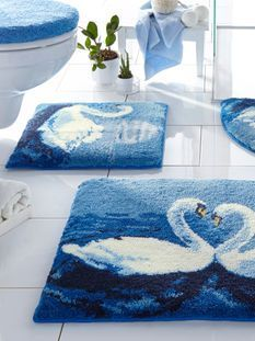 Carpet Runners For Hallways Ikea Info: 1459489242 Crochet Tablecloth Pattern, Homemade Rugs, Latch Hook Rug Kits, Carpet Squares, Pom Pom Rug, Shaggy Rug, Hallway Carpet Runners, Bathroom Rug Sets, Rug Hooking