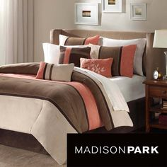 Madison Park Hanover 7-piece Comforter Set | Overstock.com Shopping - The Best Deals on Comforter Sets