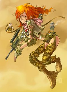 Redhead strikes again by Kira-Mayer on DeviantArt