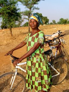 woman in Ghana whose life has been transformed by The Village Bicycle ...