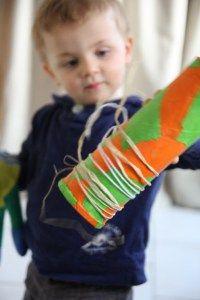 Eveillez vos petits à la musique ! Rendez-vous sur Debobrico #DIY #famille #activité #musique