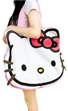 Love this over sized hello kitty tote bag Sanrio Hello Kitty, Mala Hello Kitty, Hello Kitty Purse, Hello Kitty Items, Hello Kitty Merchandise, Hello Kitty Handbags, Wonderful Day, Hello Kitty Collection, Large Bags