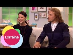 Sam Heughan And Caitriona Balfe On Marathons And Outlander Bakers | Lorraine - YouTube