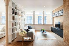 Wohnzimmer einrichten Fernseherschrank Sofa beige                                                                                                                                                                                 Mehr