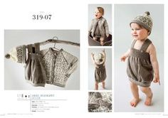 Jakke og lue pattern by Olaug Kleppe Retro Baby, Two Piece Skirt Set, Knitting, Knits, Pattern, How To Make, Link, Fashion, Threading