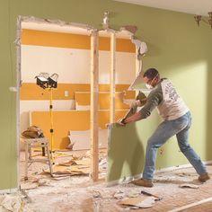 removing load bearing wall