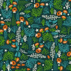 Deep Reef Fish fabric by melisza on Spoonflower - custom fabric