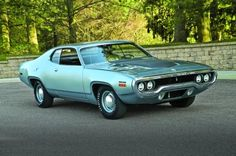 1971 Hemi Road Runner  Maintenance/restoration of old/vintage vehicles: the material for new cogs/casters/gears/pads could be cast polyamide which I (Cast polyamide) can produce. My contact: tatjana.alic@windowslive.com