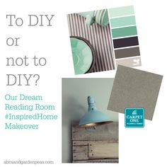 To DIY or not to DIY? See how we answered the question. #InspiredHome #ad